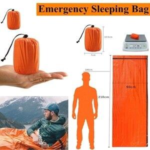Waterproof Lightweight Thermal Emergency Sleeping Bag Bivy Sack - Survival Blanket Bags Emergency Tent Emergency Kit Supplies