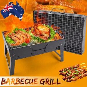 Foldable BBQ Grills Patio Barb