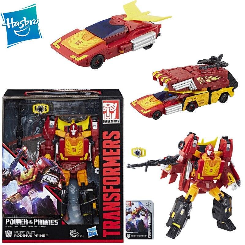 Новые Трансформеры Hasbro Generation-Rodimus Prime (мощность премиум класса), 25 см, ПВХ фигурки героев и игрушек E0902