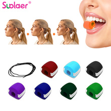 Foodgrade Silica Gel Jaw Line Exercise Ball Muscle Trainin Fitness Ball Neck Face Toning Jawr Size Jaw Muscle Training Face Lift