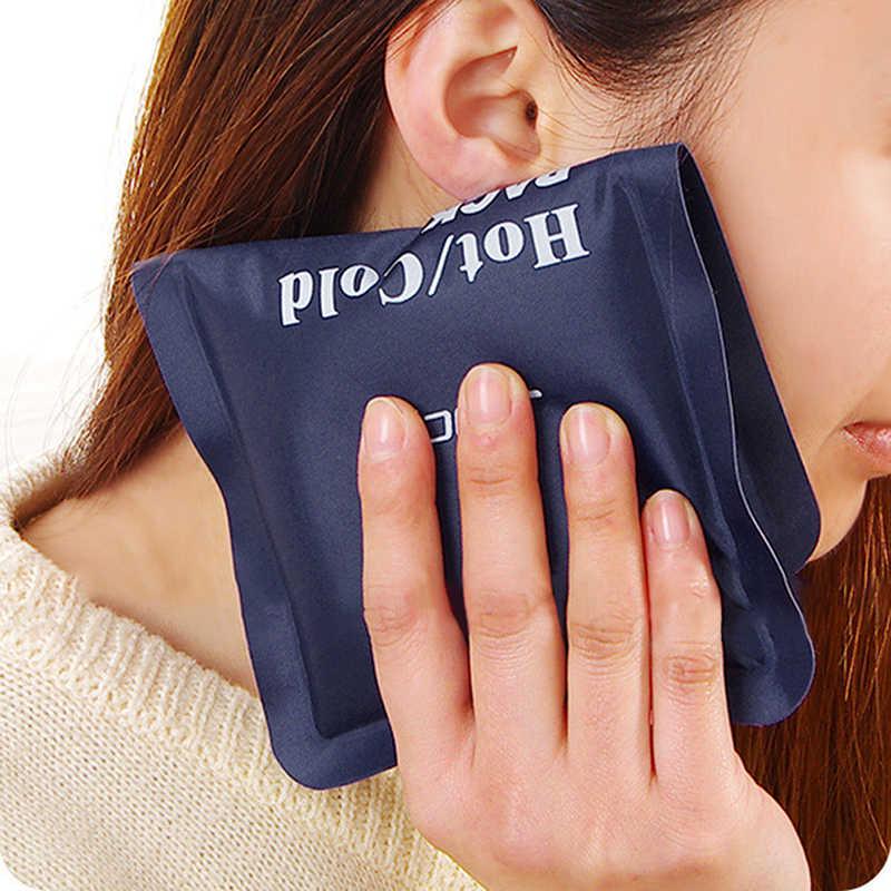 حقيبة العلاج الطبيعي الساخن والبارد الكبار الساخن ضغط الجليد حزمة الجليد حزمة قابلة لإعادة الاستخدام الميكروويف الساخن حزمة الهلام الجليدي الإسعافات الأولية لتخفيف الآلام