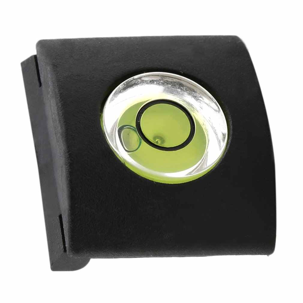 Flash Hot Shoe Protector Cover Cap Bubble Spirit Level For DSLR Camera