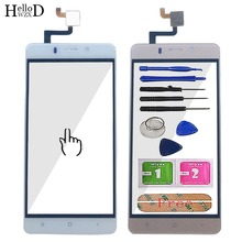 цена на Mobile Touch Screen Front Glass For Ginzzu S5120 Touch Screen Digitizer Panel Glass Sensor Touchpad TouchScreen Tools 3M Glue