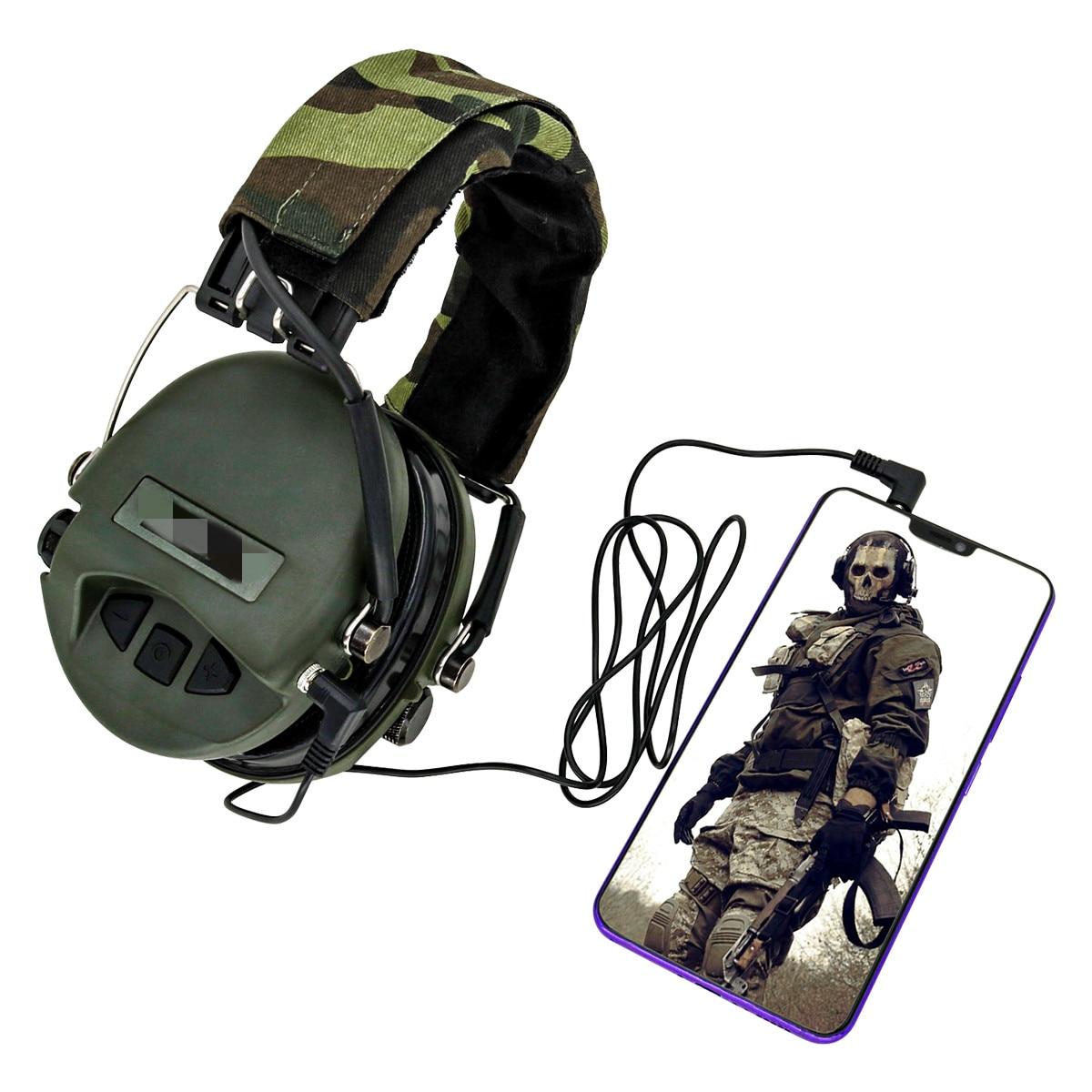 Tactical MSA Airsoft Sordin Kopfhörer Outdoor Jagd Elektronische Gehörschutz Lärm Reduktion Schießen Tactical Kopfhörer