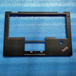 New Original for Lenovo ThinkPad X1 Yoga 1st Palmrest Keyboard Bezel Cover with Fingerprint Hole 460.04P02.0004 SB30K59264
