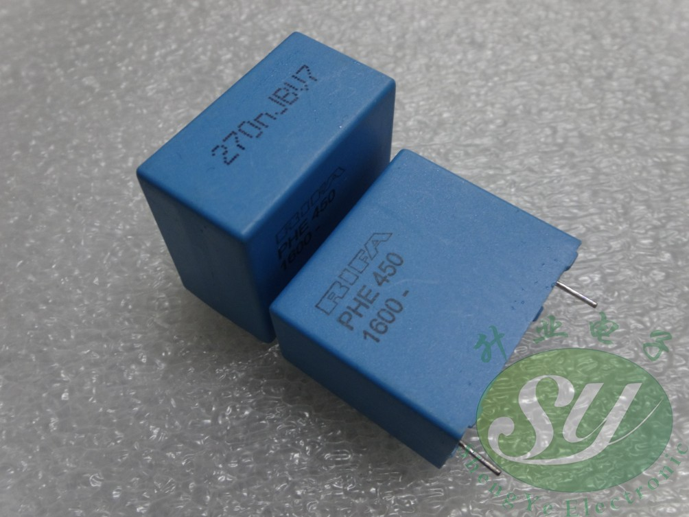 50pcs RIFA PHE450 Series 0.27uf/1600V 270NF U27 274 New Film Capacitor 28Mm Free Shipping