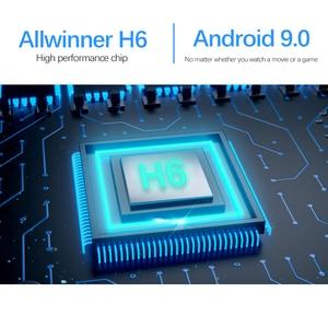 Image 3 - 2020 جديد واي فاي 2.4/5G مربع التلفزيون الذكية أندرويد 9.0 4GB 32GB 64GB الترا HD 6K H.265 يوتيوب مشغل الوسائط صندوق التلفزيون أندرويد TV فك التشفيرAllwinner H6 ، رباعي النواة ARM Cortex A53 ، حتى 1.5 جيجا هرتز