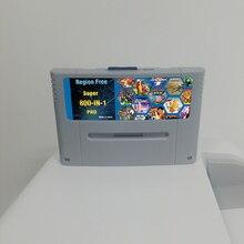 Süper DIY Retro 800 in 1 Pro oyun kartuşu için 16 Bit oyun konsolu kart çin versiyonu