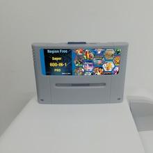 Super bricolage rétro 800 en 1 Pro cartouche de jeu pour 16 bits Console de jeu carte chine Version