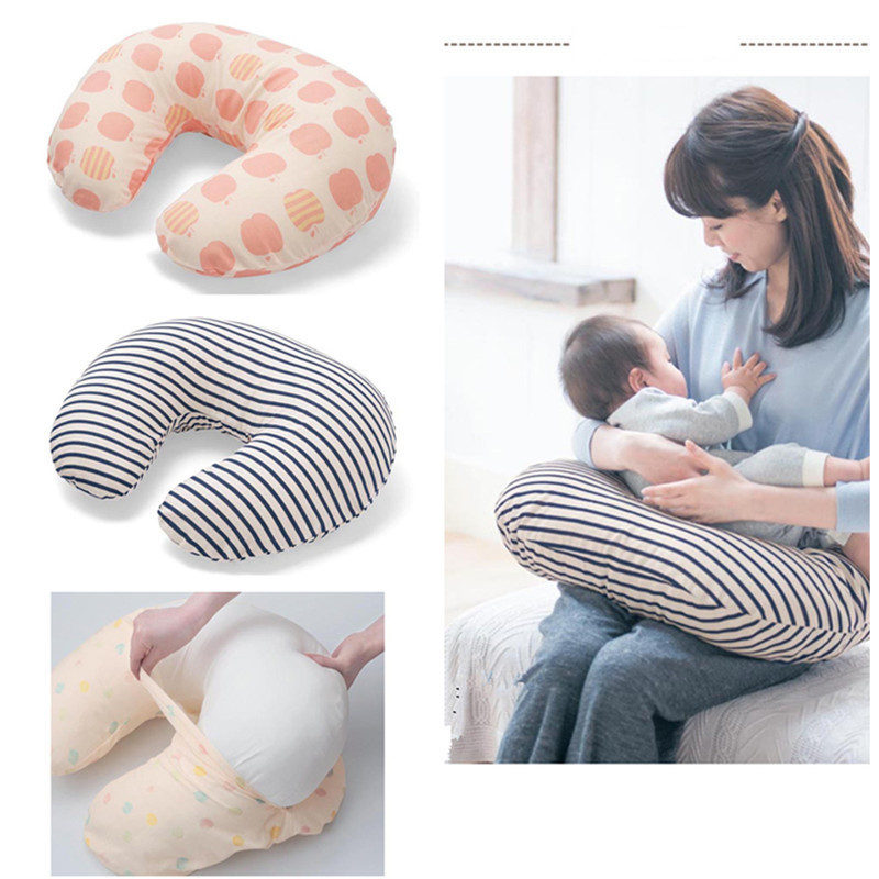 Multifunctional Baby Pillows Maternity Baby U-Shaped Breastfeeding Pillow Infant Cotton Feeding Waist Cushion Baby Care Pillows