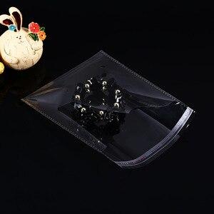 Image 5 - 100 قطعة متعددة الحجم واضح الذاتي لاصق التشيلو السلوفان حقيبة الذاتي ختم حقائب بلاستيكية صغيرة لتعبئة الحلوى الأغلاق Bag55