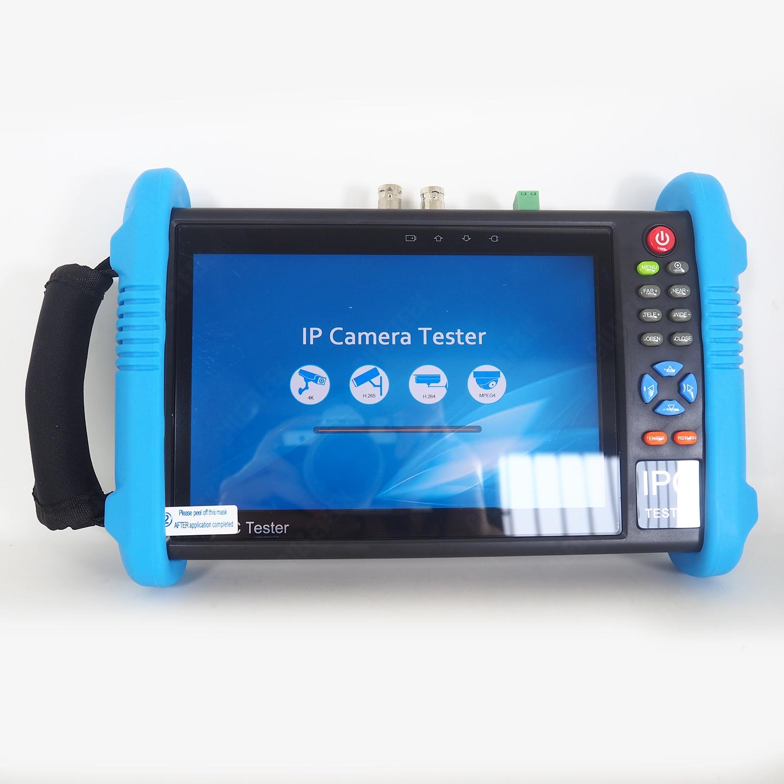 9800PLUS 7 zoll 1920*1200 IP Kamera Tester 4K 1080P IPC CCTV Monitor Video POE Test touchscreen HDMl Entdeckung
