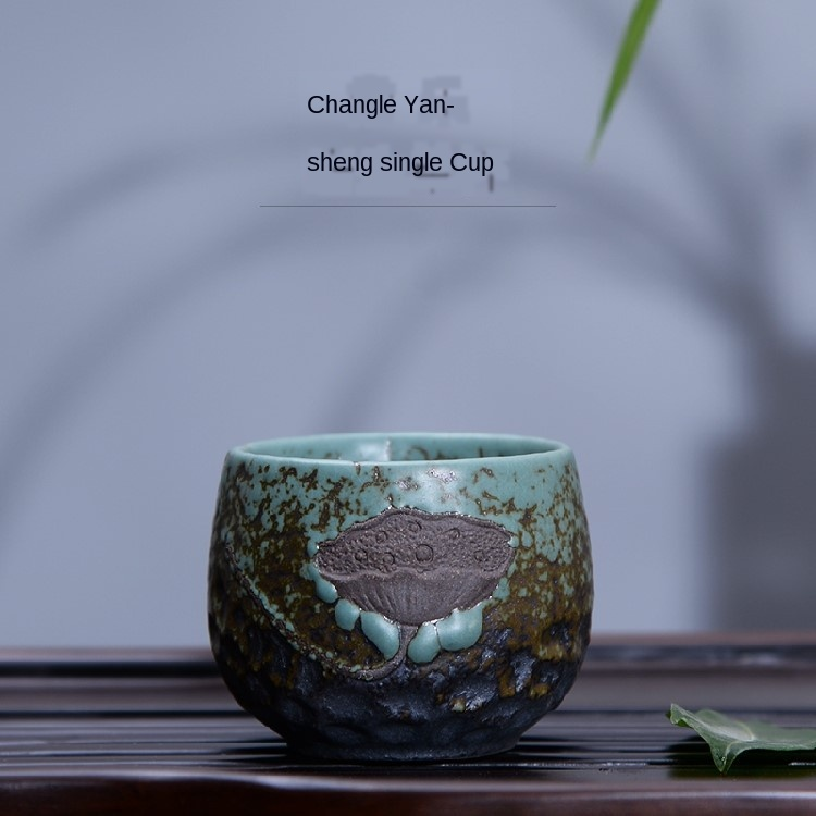 Six Small Handmade Ceramic BowlsTeacups
