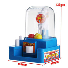 Catcher Claw Vending Crane Machine Candy Doll Grabber Portable Game Finger Practical Board Indoor Activity Desktop Toy Miniature