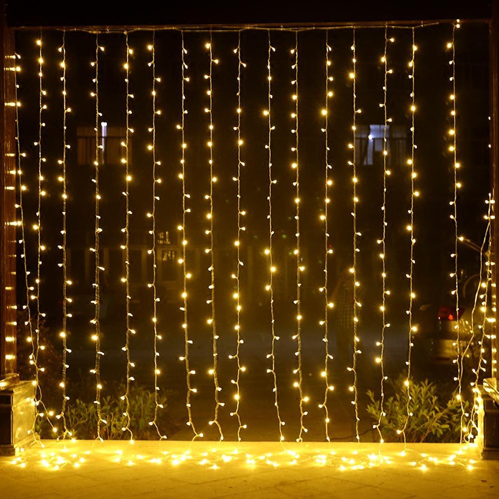 100//200 LED Fairy String Party Fancy Light Lamp Home Garden Festival Decorations