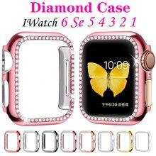 Алмазный защитный чехол для экрана apple watch аксессуары 6