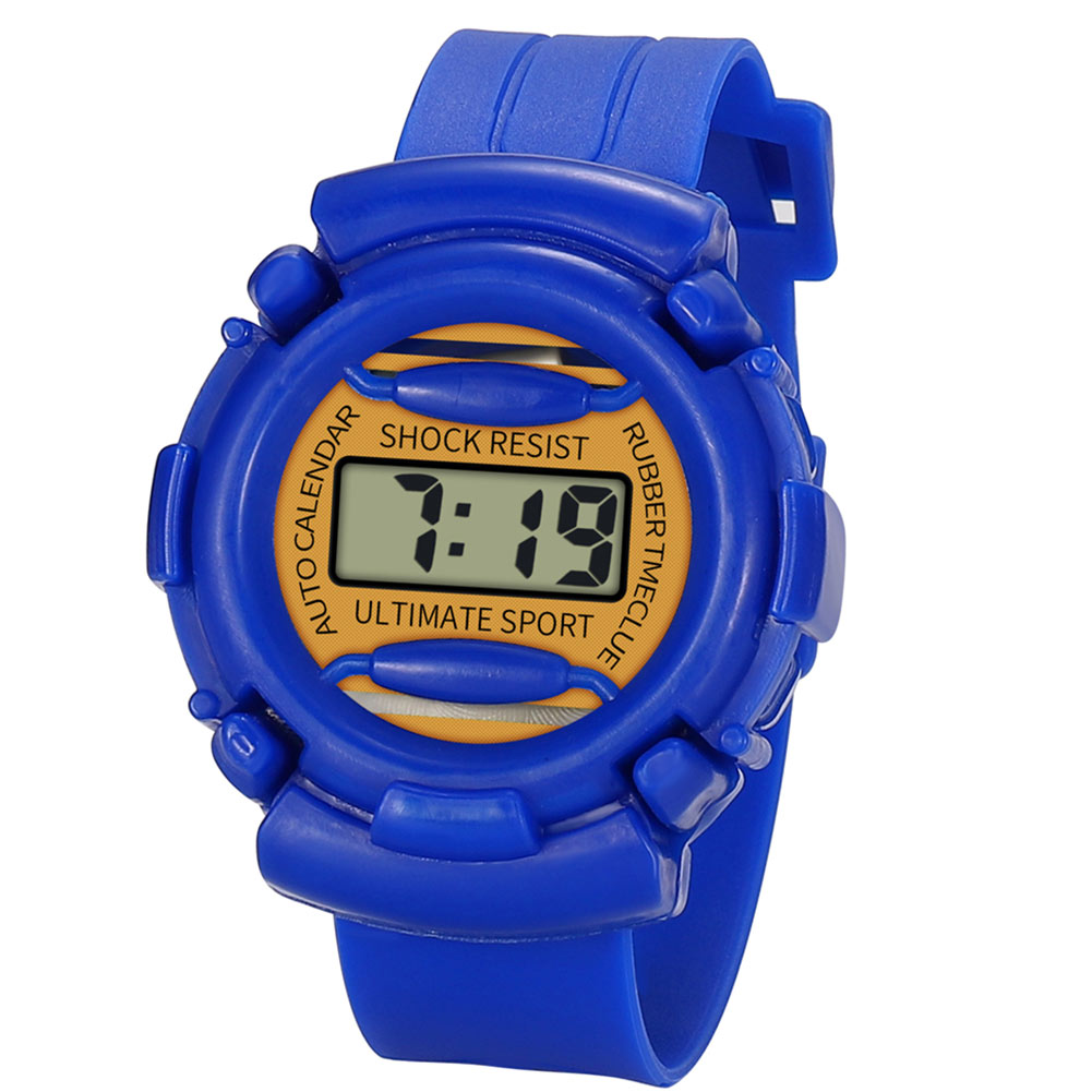 New Lightweight And Durable Kids Casual Electronic Watch Children Silicone Sports Watches  MV66