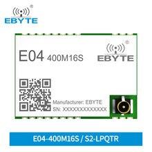 Ebyte E04-400M16S S2-LP módulo sem fio do transceptor do rf 433m baixo consumo de potência 470mhz módulo spi da longa distância