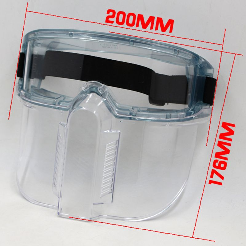 2020 New Anti Splash Face Shield UV Protection Sun Visor Adjustable Full Face Mouth Mask
