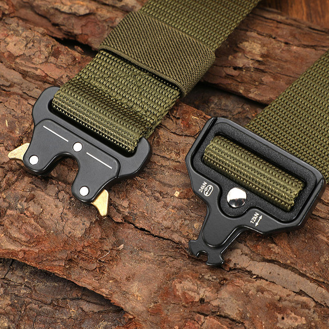 Tactical Military Canvas Outdoor Tactical Belt 3