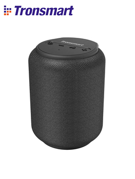 Mini wireless portable and waterproof bluetooth speaker with clear 360 degree sound.