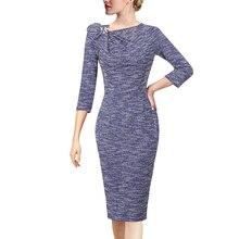 Женское однотонное Плиссированное Платье футляр Vfemage с цветочным принтом и асимметричным вырезом, облегающее Деловое платье для офиса, коктейльной вечеринки, 18333