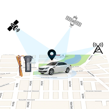 AODIHENG Deluxe Remote Cut-off Engine and Easy Installation No Need Charge GPS Tracker for Motorcycle or Car GT02-2G 3G 4G image