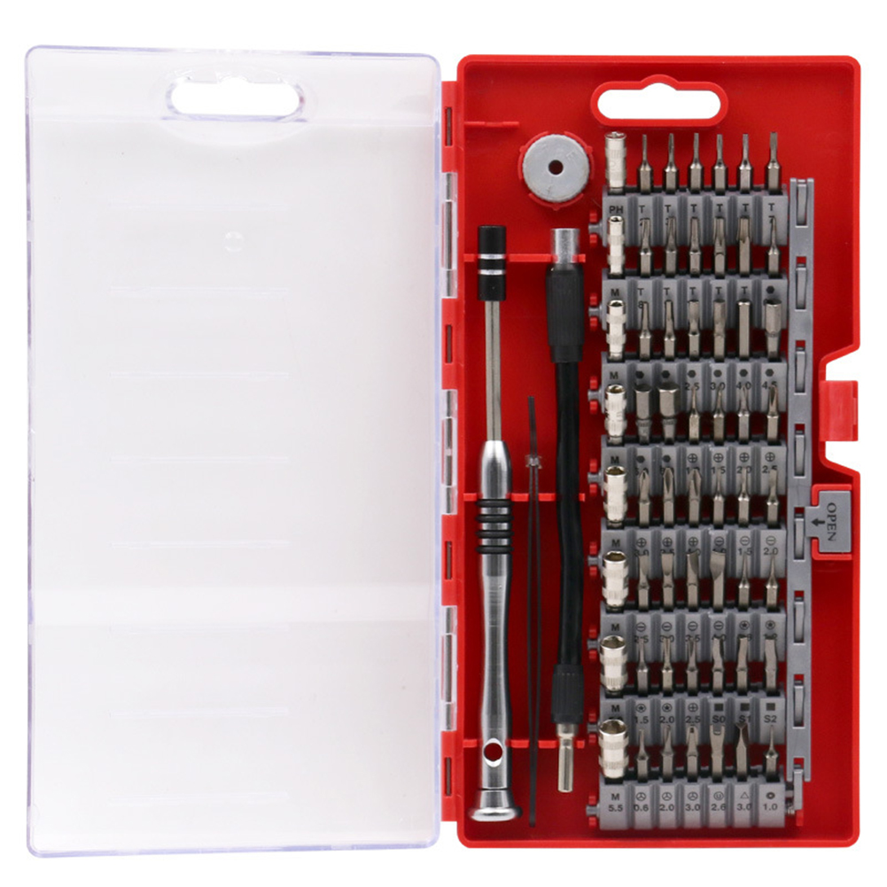 Magnetic <font><b>Screwdriver</b></font> Set Professional 60 in1 Precision <font><b>Screwdriver</b></font> Tool Kit for Phone Tablet Compact Repair Maintenance handTool image