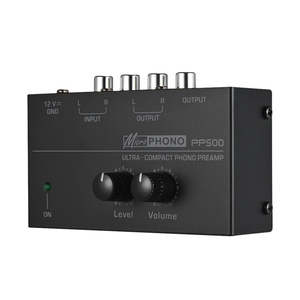 Image 3 - Hot 3C Pp500 Ultra Compact Phono Preamp Preamplifier with Level & Volume Controls Rca Input & Output 1/4 Inch Trs Output Interfa
