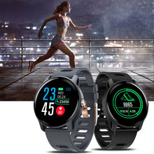 2019 New Men Smart Watch S08 Fitness Tracker Heart Rate Monitor Pedometer IP68 Waterproof Women Smartwatch For Android IOS Phone(China)