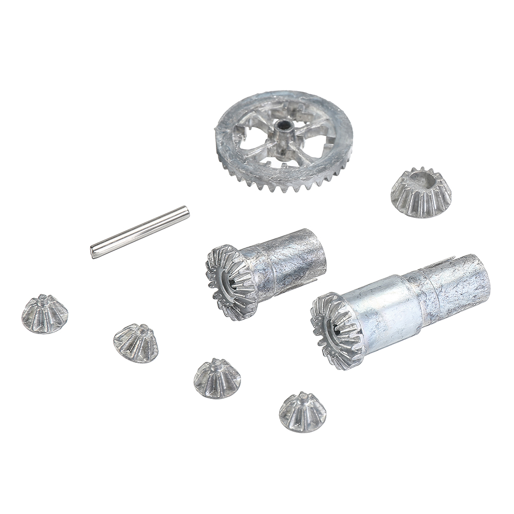 HS 18301 18301 18311 18312 18321 18322 Upgraded Metal Differential Gear Kit RC Car 1:18 Spare Parts Radio Control Car <font><b>Accessory</b></font> image