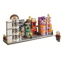 Harri Magic Movie Series башня с часами замок Экспресс строительные блоки игрушки Совместимые Legoed 75948 75951 75955 75954 подарки