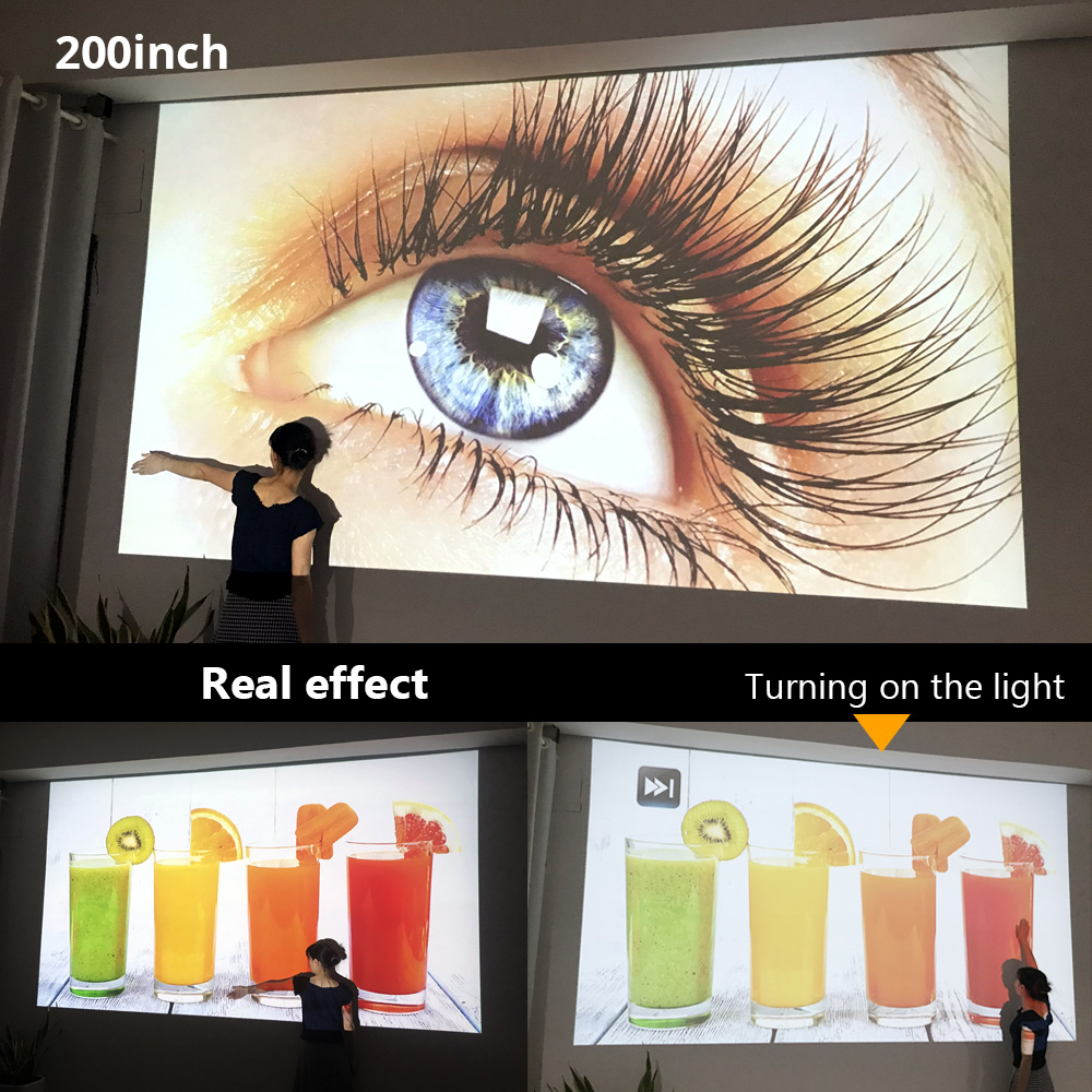 BYINTEK UFO R9 Smart Android WIFI Video Micro Portable DLP Mini LED 3D Projector for Full HD 1080P Home Theater Business Office