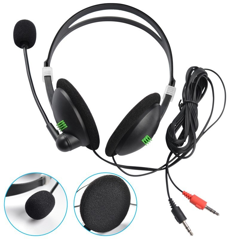 1PCS Stereo Bass Headphones with Microphone Noise Cancelling Headsets Bass Sound HiFi Music Earphone for Sony IPhone Xiaomi PC|Headphone/Headset|   - AliExpress