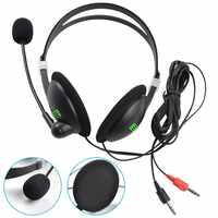 Auriculares estéreo de graves con micrófono, cancelación de ruido, para Sony, IPhone, Xiaomi y PC, 1 unidad