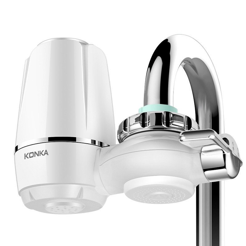 KONKA Mini Tap Water Purifier Kitchen Faucet Washable Ceramic Percolator Water Filter Filtro Rust Bacteria Removal Replacement 6