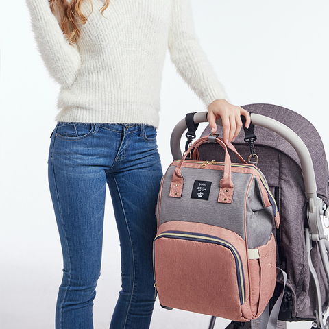 Diaper Bag Backpack Multifunction Travel Back Pack Maternity Baby Nappy Changing Bags Large Capacity Waterproof and Stylish Multan