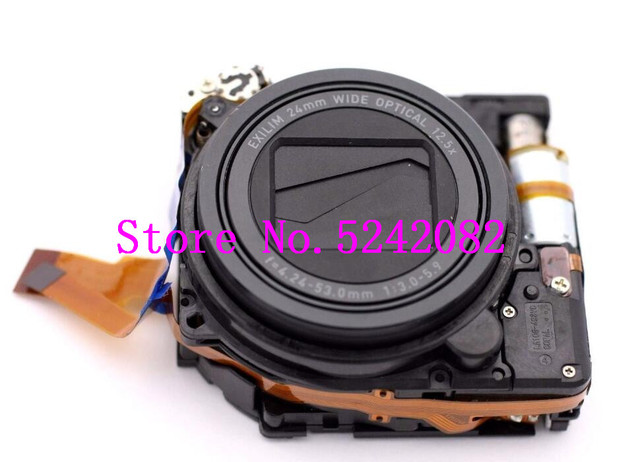 עדשת זום יחידה תיקון חלק עבור Casio EX ZR100 ZR100 ZR200 ZR300 ZR350 H30 מצלמה אין ccd
