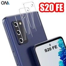 Lentille de caméra en verre trempé pour Samsung Galaxy S20 FE 5G, protecteur d'écran pour Samsung Galaxy S20 Lite, Film en verre d'objectif de caméra arrière