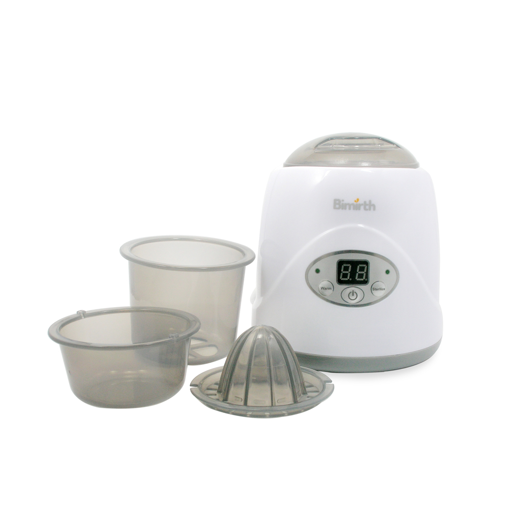 Multi-functional LED Breast Milk Heater Electronic Baby Feeding Bottle Warmer Breast Sterilizer US/EU/UK Plug 110-120V