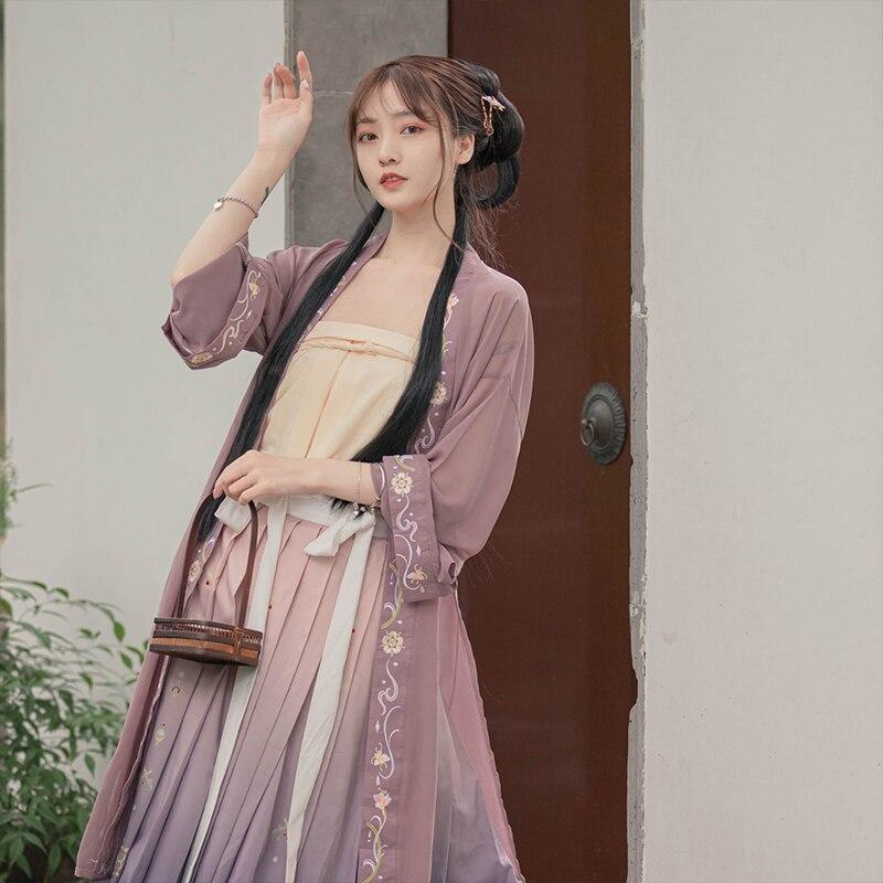 H21559a73b59b41d6ac8d76ad237da0fa0 - ชุดจีนโบราณ เครื่องแต่งกายจีนสมัยก่อน ชุดฮั่นฝู Hanfu ชุดจีนดั้งเดิม เสื้อผ้าผู้หญิงจีนโบราณ