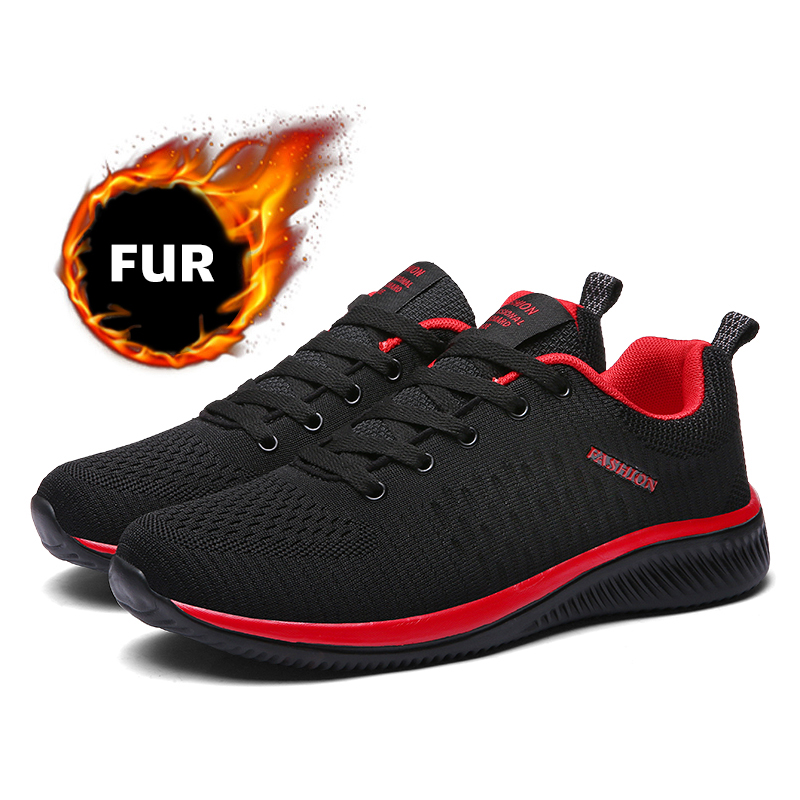 Winter Boots For Men Winter Shoes Keep Warm Ankle Boots Men Winter Sneakers Plus Size Hiking Shoes Men Footwear Botas Masculina