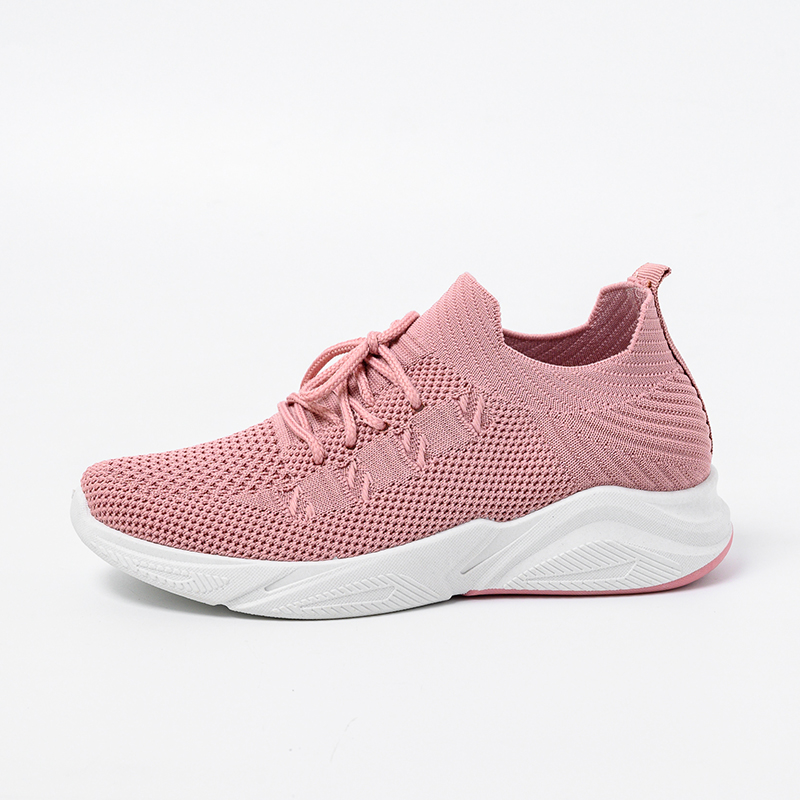 Womens Flats Lady Shoes Leisure Outdoors Casual Shoes Breathable Women's Mesh Sneaker Zapatillas Muje