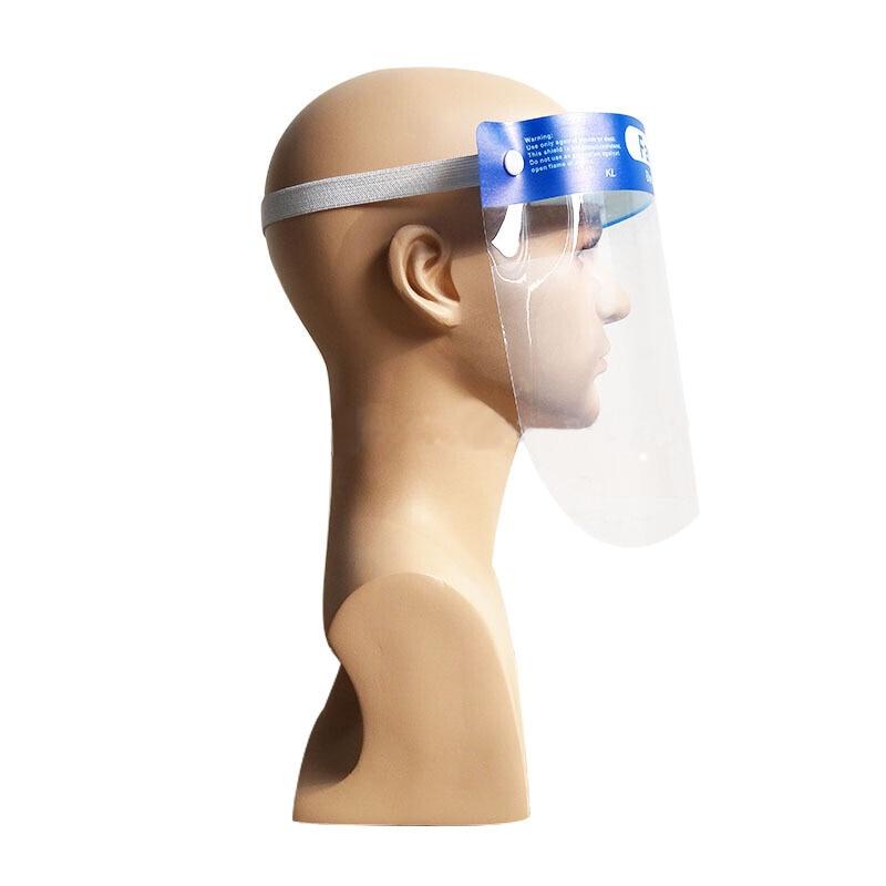 Image 4 - 10PCS FDA Certification Transparent Face Shield Safety Protective  Mask Anti Fog Oil Splash Proof Anti UV Anti Shock Safety MaskMasks