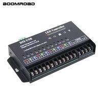 USB DIY LED RGB RGBW Controller 12 Channel Programmable Controller 5A*12CH LED Controller For 3528&5050 Led Strip