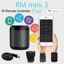 цена Broadlink RM Mini3 Universal Intelligent WiFi/IR/4G Wireless IR Remote Controller Via IOS Android Smart Home Automation 2019 New онлайн в 2017 году