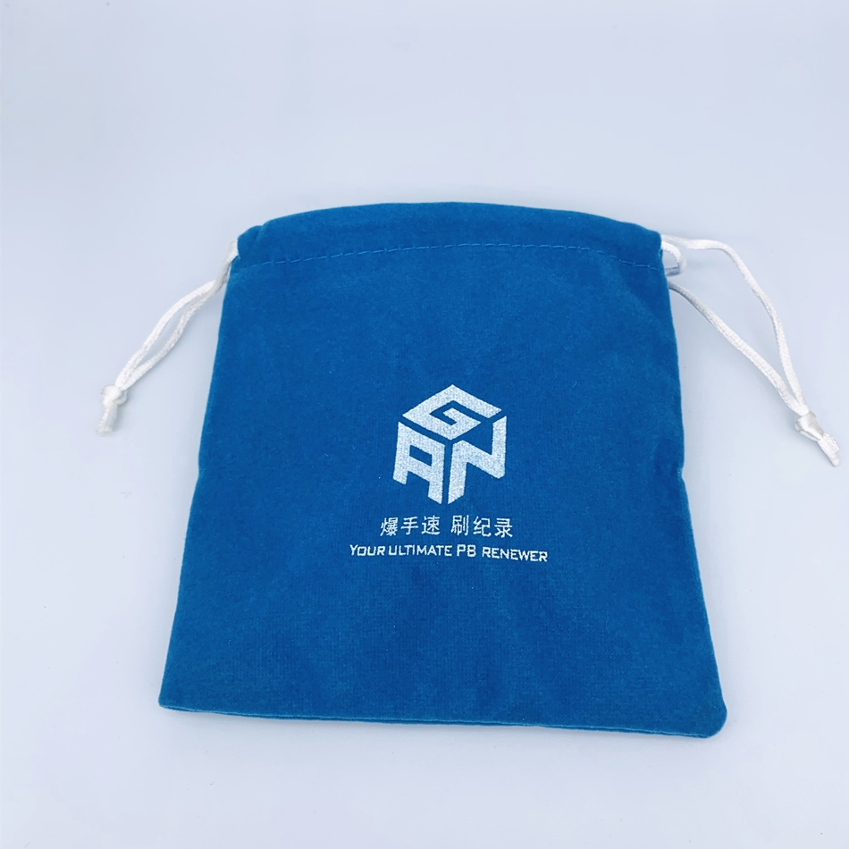 GAN High quality flannel bags For cubes,No-logo flannel bags,Effectively protect your cubes,GAN lube Qiyi lube for speed cube 7