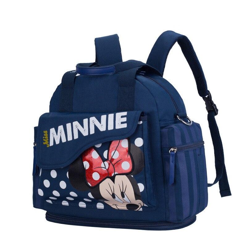 Disney bébé poussette sac de rangement bébé chariot momie sac panier accessoires maman voyage panier suspendu bouteille sac