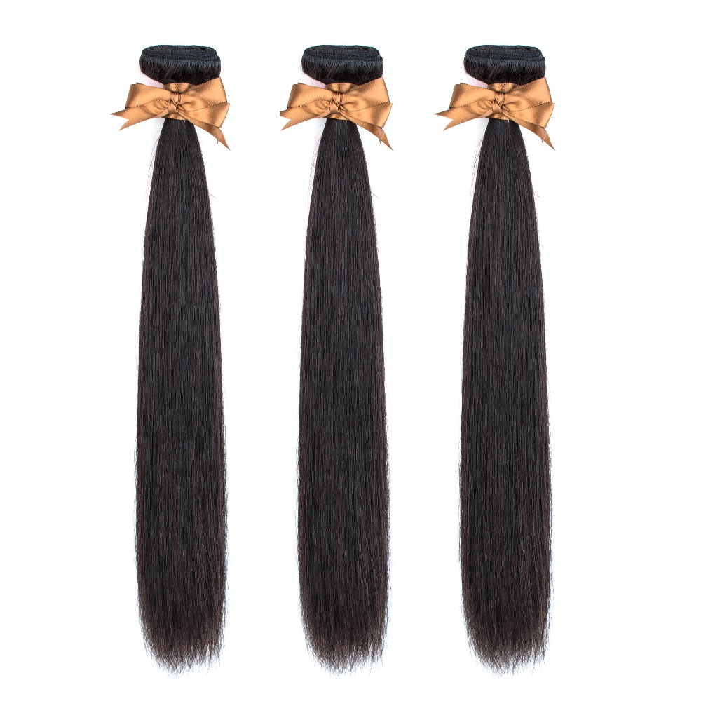 H2156f235c0f04bf291a37f3c2b70cdcaq Allrun Malaysian Straight Hair Bundles With Frontal Closure 13*4 Human Hair Bundles With Closure Non-Remy Hair Low Ratio
