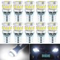 10x T10 W5W LED Canbus Error Free интерьер автомобиля парковка светильник для Honda Civic Accord Crv Fit Джаз город вариабельности сердечного ритма CR-V аксессуары 12V